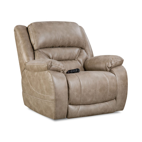 Shop Home Stretch Triple Mushroom So Mushroom Power Recliner at Mealey's Furniture