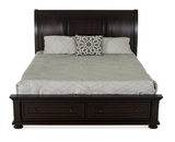 Shop Flair Port Ash King Bed at Mealey's Furniture