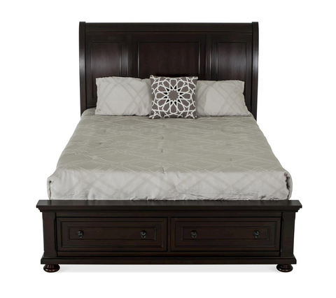 Shop Flair Port Ash Queen Bed at Mealey's Furniture