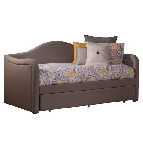 Shop Hillsdale Porter  Dove Gray Linen Daybed W/Trundle at Mealey's Furniture