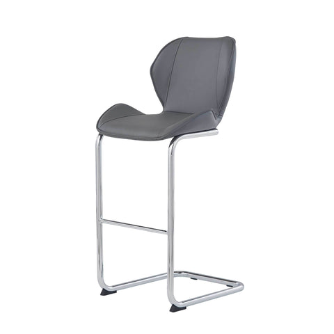 Bar Stool- Grey
