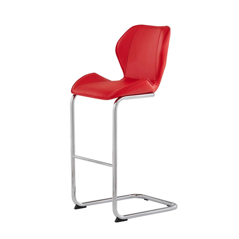 Bar Stool- Red
