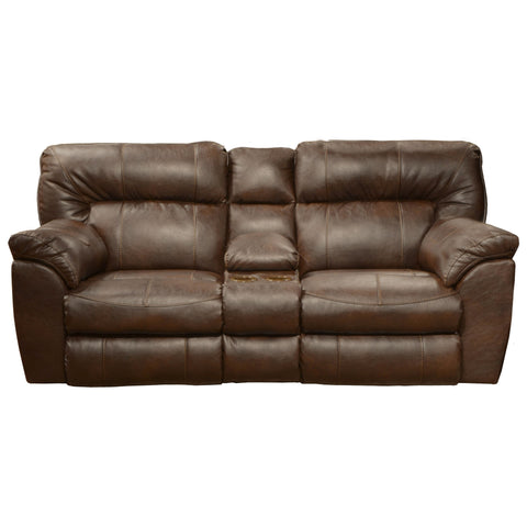 Shop Jackson Nolan Godiva Godiva Reclining Loveseat With Console at Mealey's Furniture