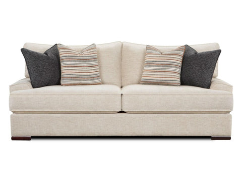 Shop Fusion Bradley Cream Sofa at Mealey's Furniture