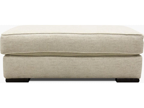 Shop Fusion Bradley Cream Ottoman at Mealey's Furniture