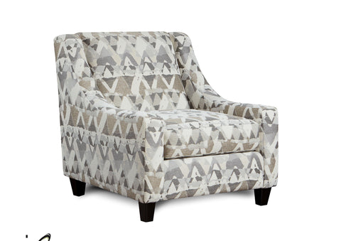 Shop Fusion Alton Silver Accent Chair at Mealey's Furniture