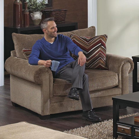 Shop Jackson Anniston Saddle Saddle Chair And Half at Mealey's Furniture