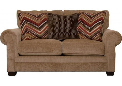 Shop Jackson Anniston Saddle Saddle Loveseat at Mealey's Furniture