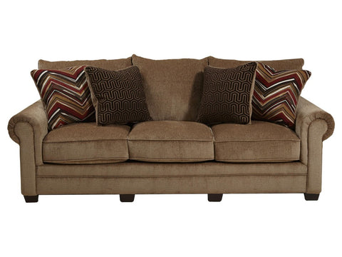 Shop Jackson Anniston Saddle Saddle Sofa at Mealey's Furniture