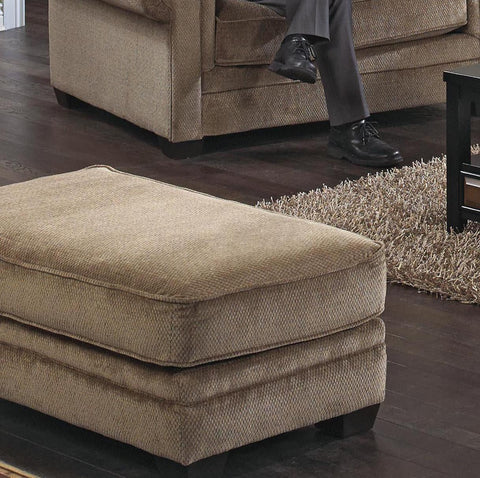 Shop Jackson Anniston Saddle Saddle Ottoman at Mealey's Furniture