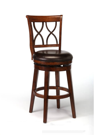 "Shop Hillsdale Reydon Brown Cherry 26"" Swivel Counter Stool at Mealey's Furniture"