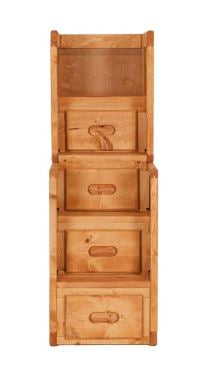 Shop Trendwood Bunkhouse Stairway Chest at Mealey's Furniture