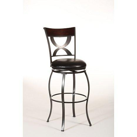 "Shop Hillsdale Stockport 26"" Swivel Counter Stool at Mealey's Furniture"