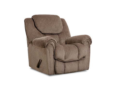 Shop Home Stretch Del Mar Taupe Rocker Recliner at Mealey's Furniture