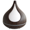 "ULTRASONIC MIST DIFFUSER ""DARK WOODGRAIN"""