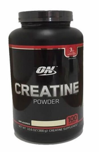 Creatine Powder - 300g Sem Sabor - Optimum Nutrition