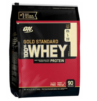 100% Whey Gold Standard 6Lbs (2,9Kg) - Optimum Nutrition
