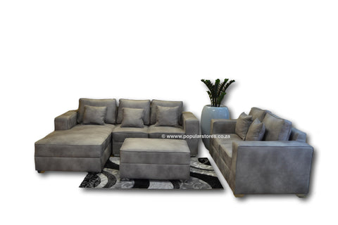 Metro Corner Set plus 2 Seater