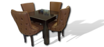 Kate 5PC Dining Set