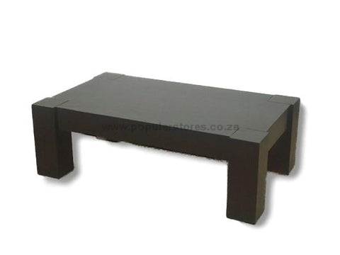 Ritzy wooden coffee table