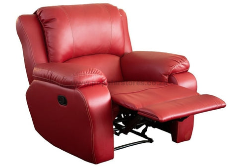 Imbali Recliner - Single Seater Red