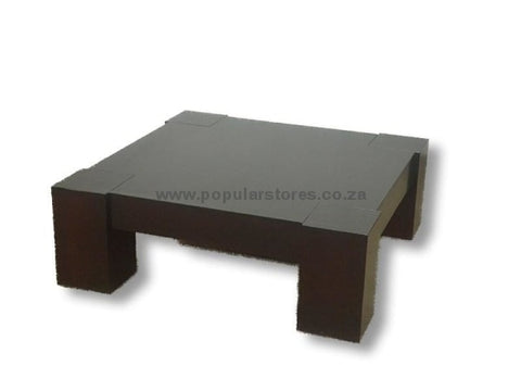 Vogue Wooden Coffee Table Brown / Length 100Cms X Height 38Cms Width