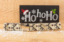 Load image into Gallery viewer, Neutral Christmas Aztec Dog Collar