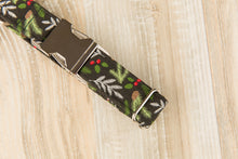Load image into Gallery viewer, Black Pine Needles Dog Collar