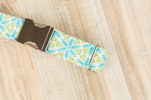 Nordic Snowflake Dog Collar
