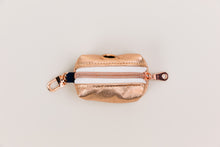 Load image into Gallery viewer, Rose Gold Jewel Tone Waste Bag Holder