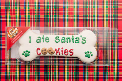 Santa Bone Dog Treat