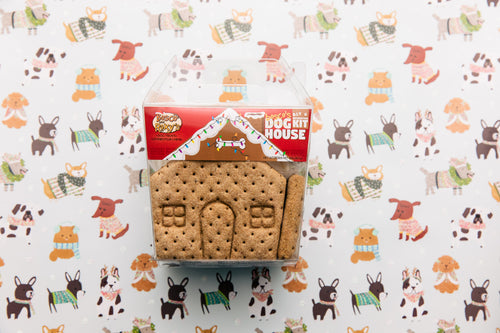 DIY Gingerbread House Dog Treat