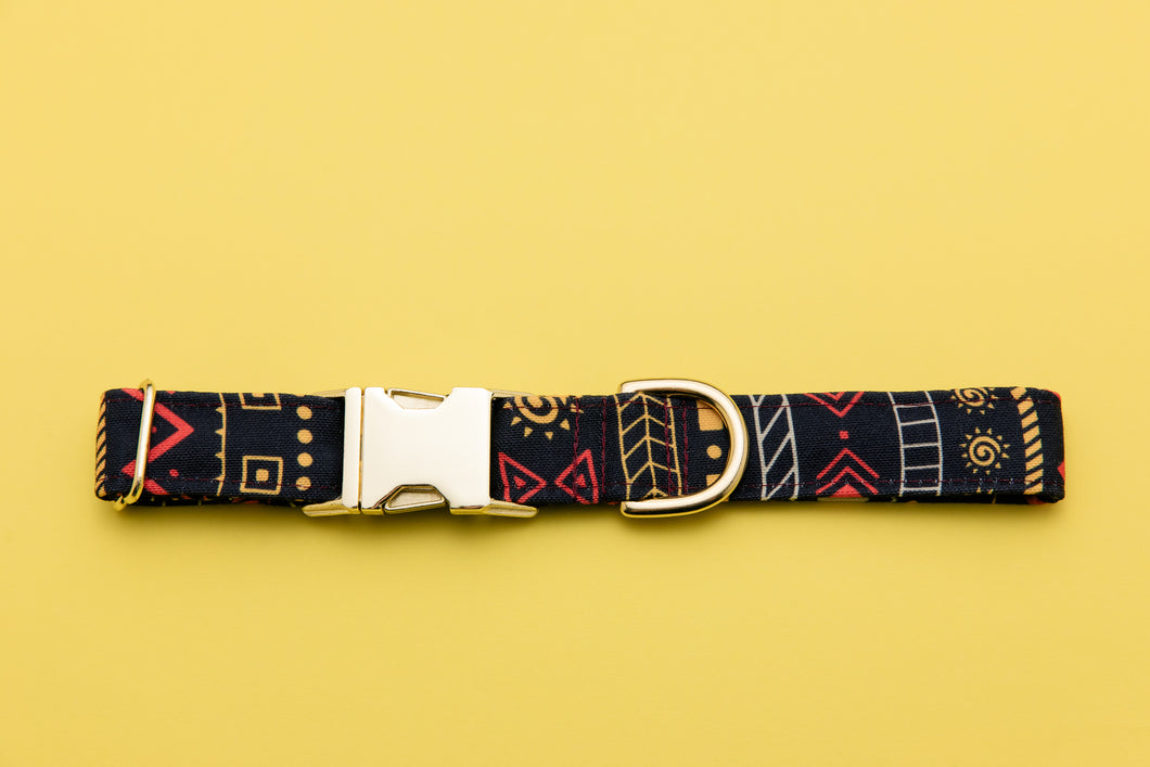 Lion King Inspired Dog Collar