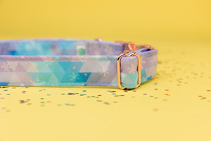 Frozen Inspired Dog Collar