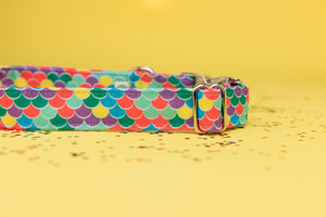 The Little Mermaid Inspired Dog Collar