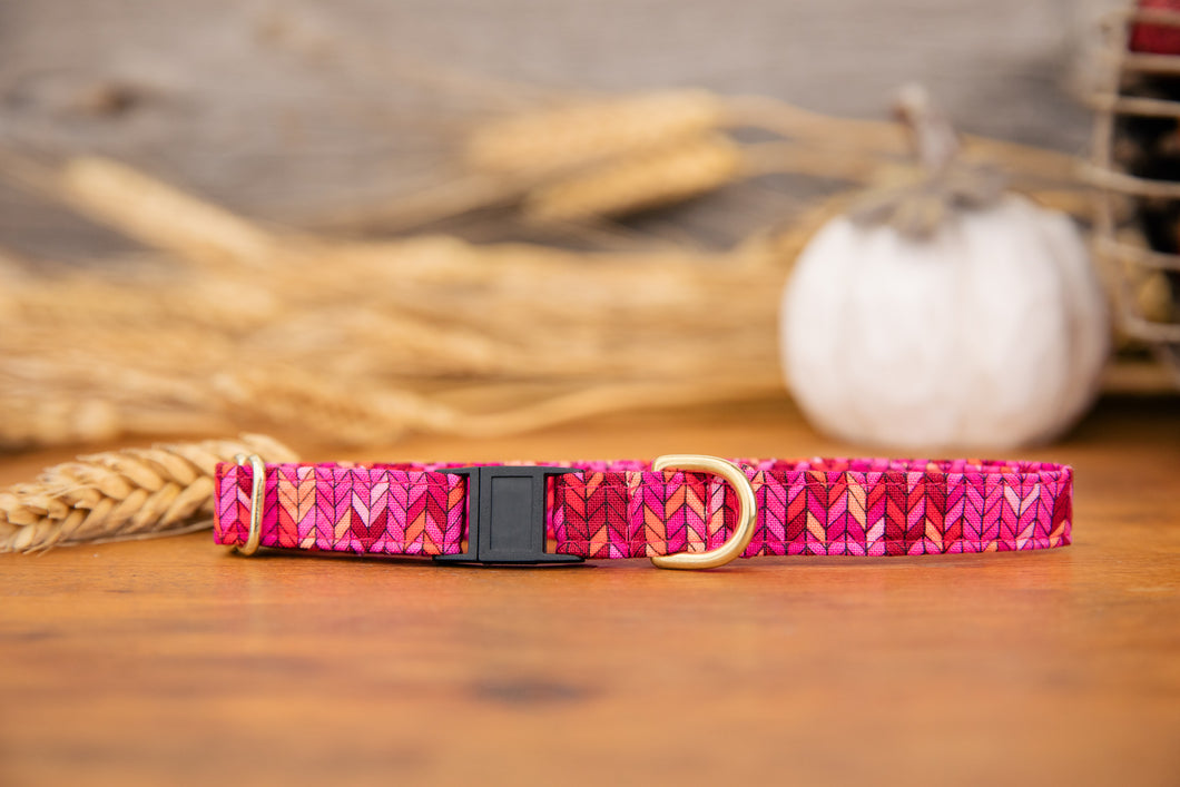 Hot Pink Cat Collar