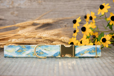Golden Mountains Dog Collar