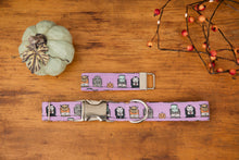 Load image into Gallery viewer, Purple Halloween Dog Collar