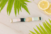 Load image into Gallery viewer, Jewel Tone Stripes Cat Collar