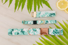 Load image into Gallery viewer, Palm Leaf Dog Collar