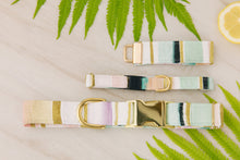 Load image into Gallery viewer, Pastel Geometric Dog Collar