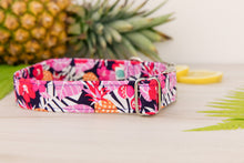 Load image into Gallery viewer, Purple Pineapple Dog Collar