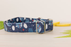 Narwhal Dog Collar