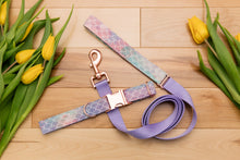Load image into Gallery viewer, Watercolour Pastel Purple Mermaid Customizable Dog Collar