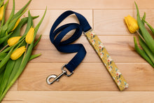 Load image into Gallery viewer, Mustard Floral Customizable Matching Dog Leash