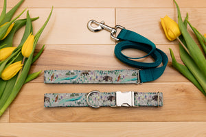 Aurora Borealis Customizable Matching Dog Leash