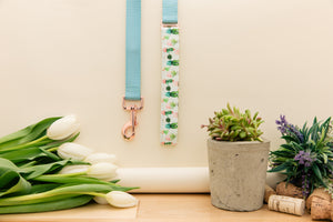 Succulent and Cactus Customizable Matching Dog Leash