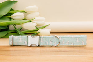 Baby Blue Unicorn, Narwhal and Bunny Dog Collar