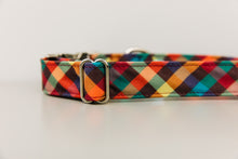 Load image into Gallery viewer, Autumn Plaid Water Resistant Dog Collar