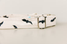 Load image into Gallery viewer, Off-White Bats Halloween Dog Collar